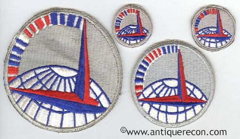 US AIR TRANSPORT COMMAND PATCH SET