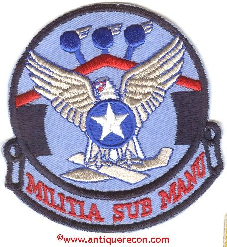 USAF 123rd COMBAT SUPPORT GROUP PATCH