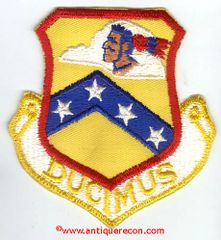 USAF 189th AIR REFUELING GROUP PATCH - DUCIMUS