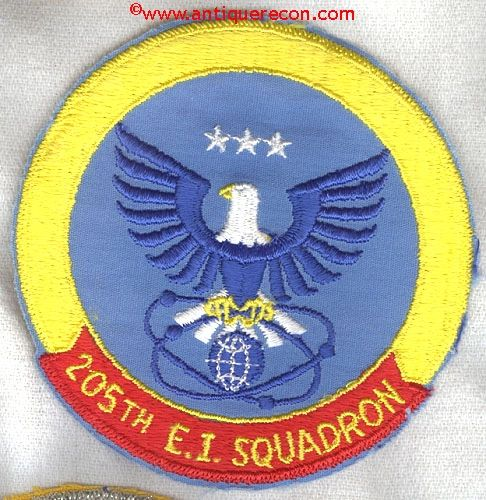 USAF 205th ENGINEERING INSTALLATION SQUADRON - OKLAHOMA AIR NATIONAL GUARD PATCH