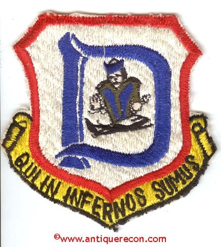 USAF 3611th NAVIGATOR TRAINING SQUADRON D FLIGHT PATCH