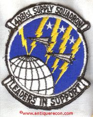 USAF 4081st SUPPLY SQUADRON PATCH