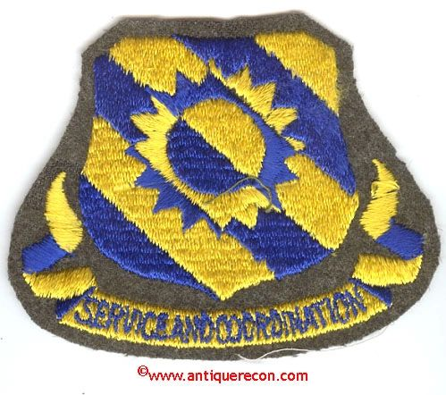 USAF 60th SERVICE GROUP PATCH
