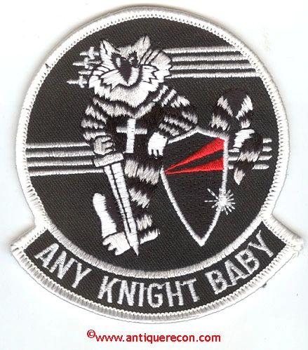 US NAVY TOMCAT ANY KNIGHT BABY PATCH - VARIANT