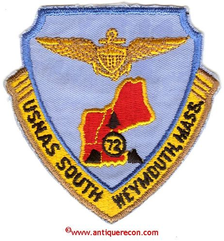 US NAVY US NAVAL AIR STATION WEYMOUTH, MASS PATCH