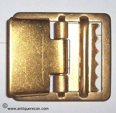 US ARMY OPEN FACE BRASS BUCKLE FOR WEB BELT