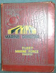 KOREA ERA THIRD MARINE DIVISION FLEET MARINE FORCE PACIFIC YEAR BOOK