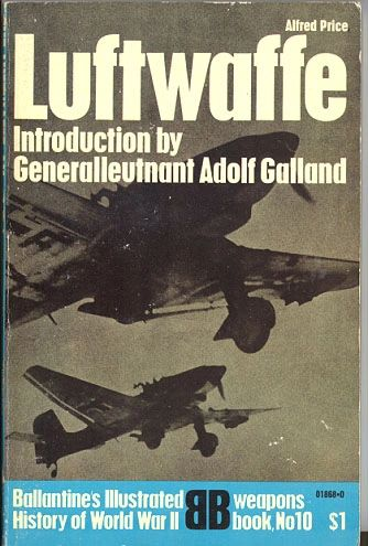 LUFTWAFFE - BALLANTINE'S WEAPONS BOOK 10 - PRICE