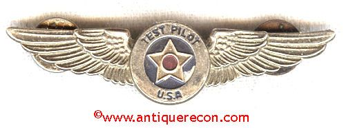 1950's USAF STYLE TEST PILOT WING - CHILD
