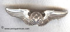 WW II US AAC AIR CREW WING SWEETHEART PIN - CORO - HOME FRONT