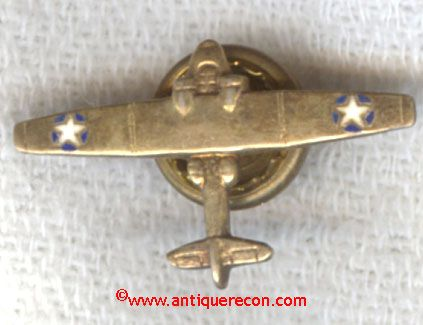 WW II USN PBY SWEETHEART PIN - HOME FRONT - STERLING
