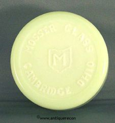 MOSSER GLASS ADVERTISING PAPER WEIGHT