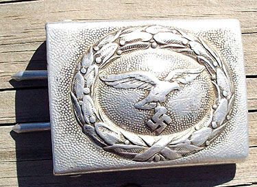 WW II GERMAN LUFTWAFFE ALUMINUM BUCKLE