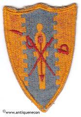 WW II US ARMY 4th CAVALRY REGIMENT DI PATCH