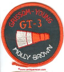 NASA GEMINI 3 MISSION PATCH