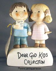 DEAR GOD KIDS COLLECTION BY ENESCO DISPLAY SIGN