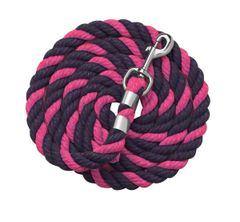 "1/2"" x 6 foot Traditional Colored Cotton Leads in TWO Different Color Combinations"