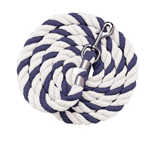 "1/2"" x 6' Traditional Two-Color Cotton Lead Ropes"