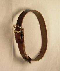 Leather Neck Collar - ADULT Size
