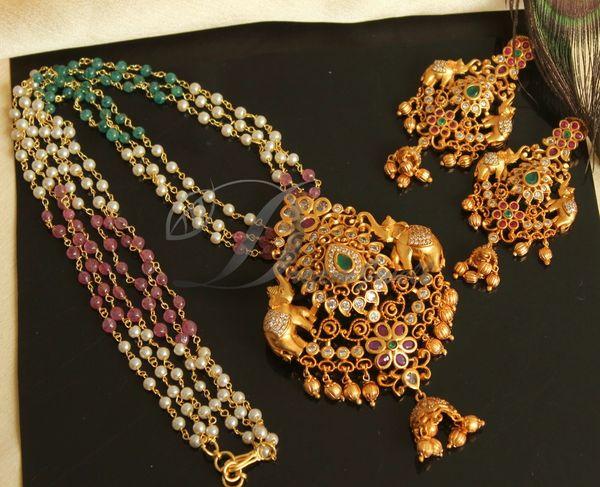 Fashion News In Telugu-Elephants On Women Jewelry