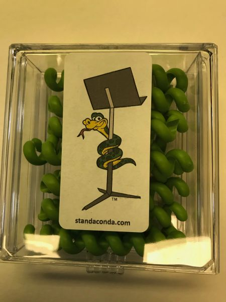 Ten-pack 'don't forget me' green Standaconda