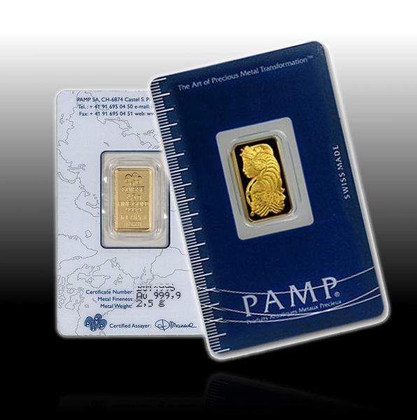 5 Gram Gold Bar PAMP
