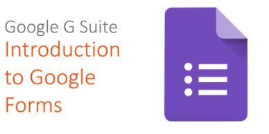 Google G Suite: Introduction to Google Forms