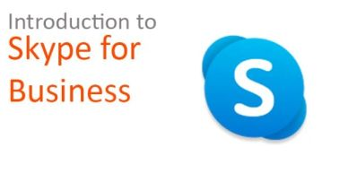 Introduction to Skype for Business