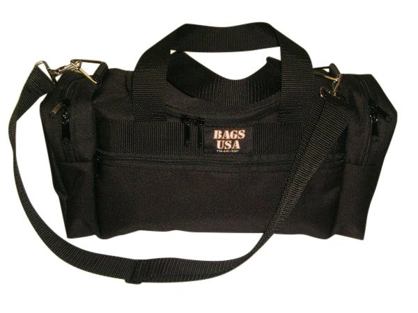 Triple duffle bag with U opening for easy excess,Made in USA.