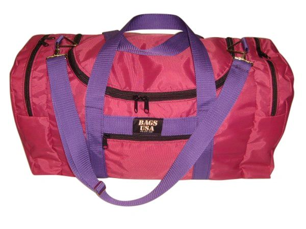 Triple Carry on weekend,gym or beach bag with U opening easy excess Made in USA.