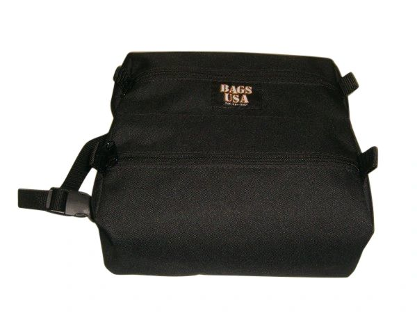 Toiletry or Shaving bag ,Firefighters twin toiletry bag, cosmetic travel kit Made in USA.