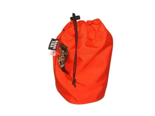 Rope bag,rescue throw rope bag,Cordura Drop bag holds up to 65'