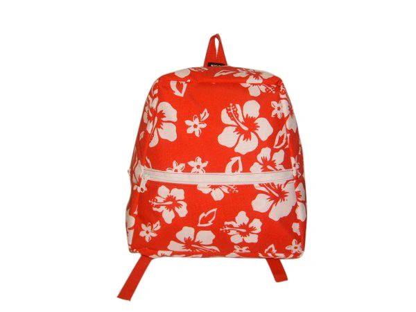 Junior size backpack also fits adult durable light weight nylon Made in U.S.A.