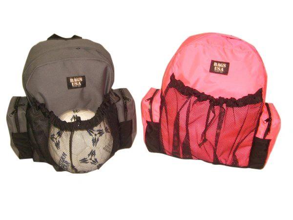 Soccer Equipment Backpack, Team Sport Soccer Backpack Made In USA.