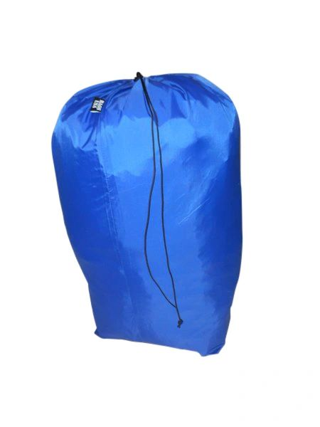 Jumbo stuff sack for sleeping bag built super strong and light weight.