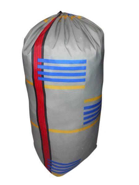 Jumbo stuff sack,Ski master,Drawstring laundry bag Made in USA.