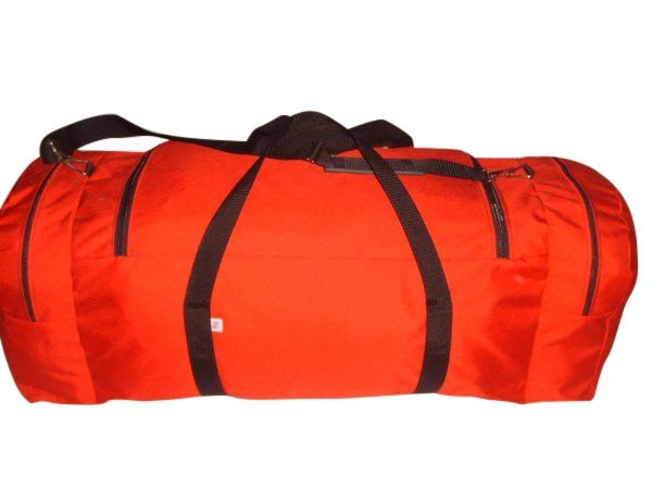 Extra Ex large duffle bag with two separate end compartment great travel or dive gear.