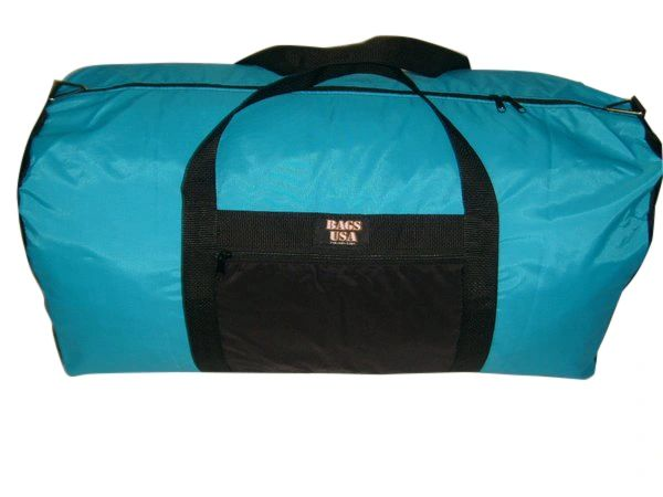 Extra large Eagle duffle bag with side pocket Made in U.S.A.