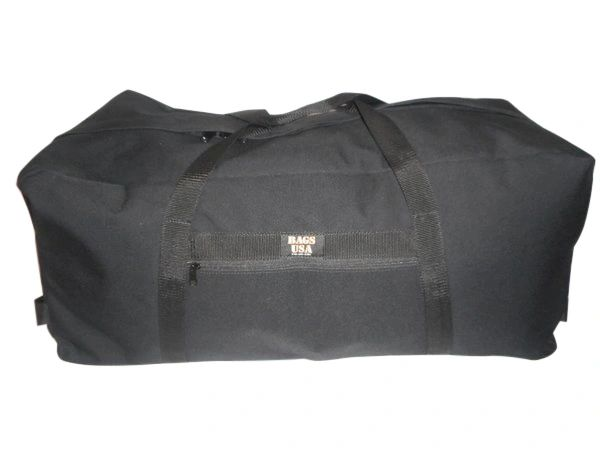 Hazmat equipment Decon bag with end carrying handles, Indestructible Made in USA.