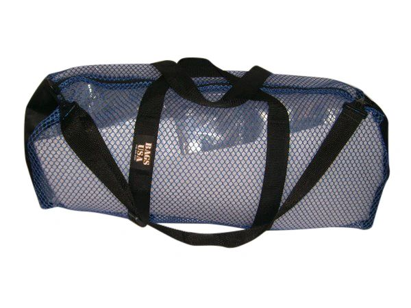 Mesh duffle Scuba gear Bag,Fins mask & Snorkel bag top quality Made in U.S.A.