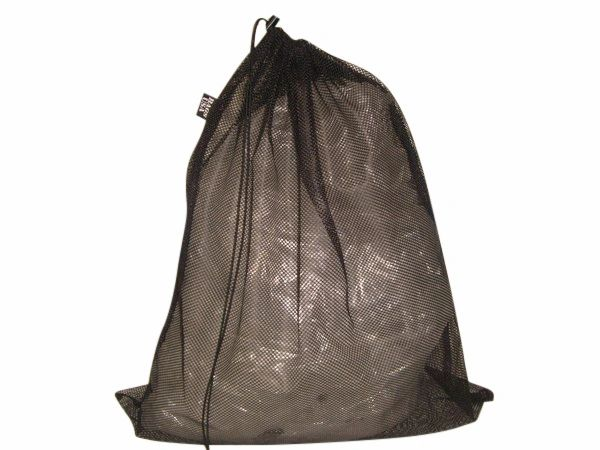 Laundry bag industrial mesh,strong, draw string with cord lock,Made in USA.
