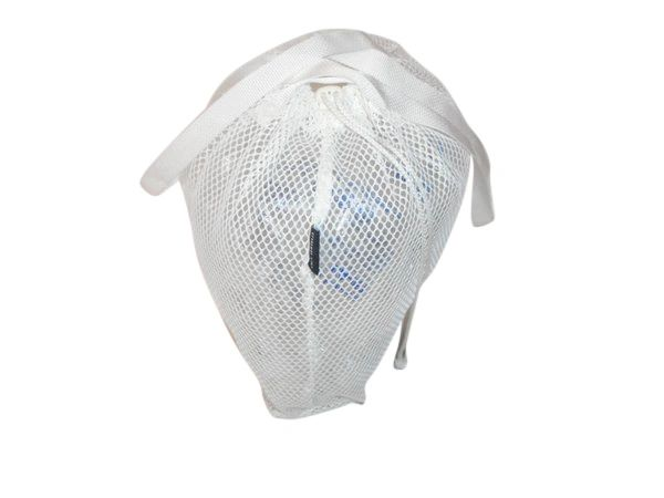Drawstring mesh laundry bag,beach bag durable mesh Made in USA