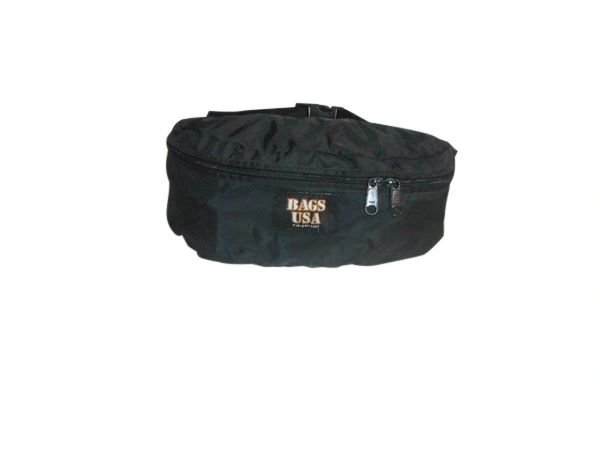 Fanny pack,waist or belly packs,belly YKK zipper water resistant and Made in U.S.A.