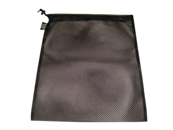 laundry bag drawstring mesh with cord lock,also holds all vacuum tools,Made in USA.