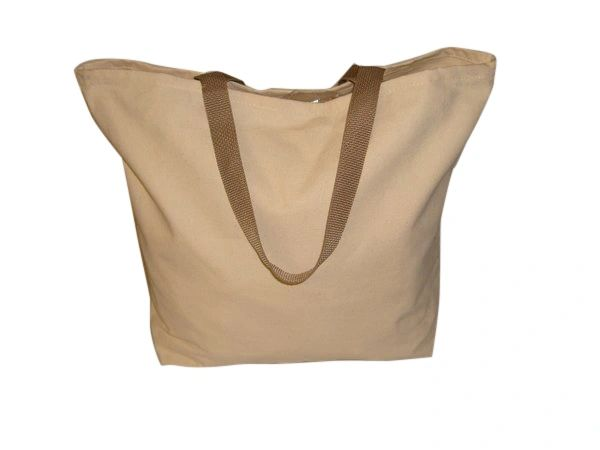 Shopping tote bag 10 oz canvas,open top grocery bag ,reusable bag made in U.S.A