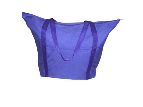Tote bag large, has three outside separated pockets for water bottle,cellphone, Keys Made in USA.