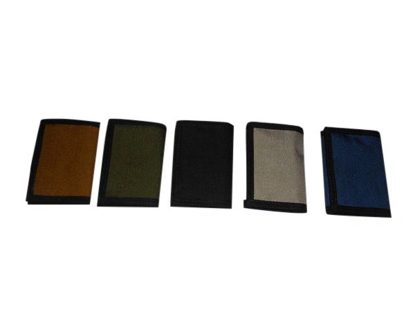 Trifold wallet with Inside coin pocket,1000 denier Cordura MADE IN U.S.