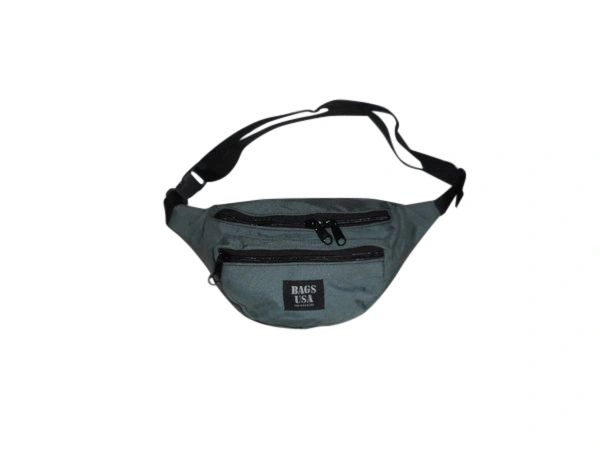 Fanny Pack With Three Compartment Tough Cordura YKK Zipper Made in USA.