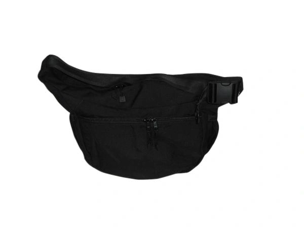 Messenger bag with front zipper pocket, two side pockets 1000 D Cordura.