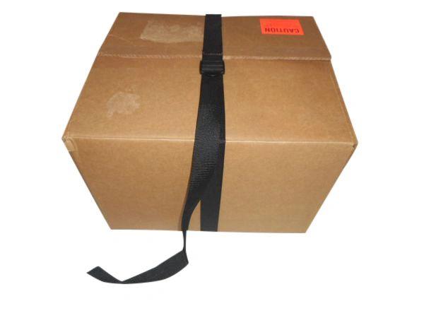 "Tie down strap heavy duty 1 1/2"" ladderlock buckle,box strap Made in USA."
